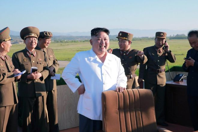 North Korea fires third missile in three weeks