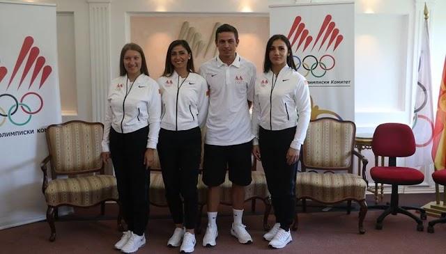 Bild des Tages - Olympia Team eingekleidet