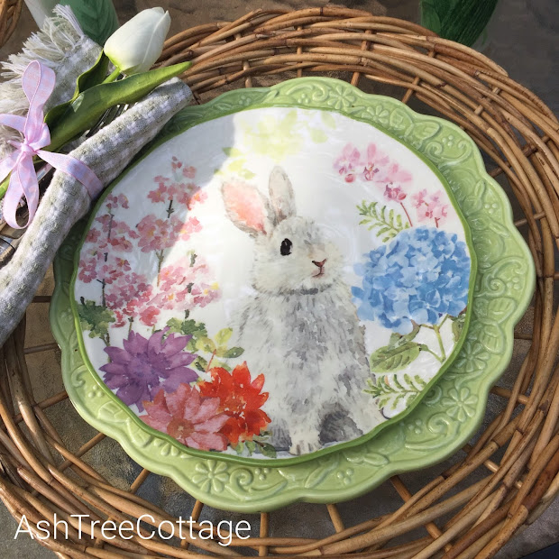 Easter Plates at Hobby Lobby
