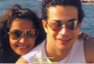 صور الفنان شريف سلامة وزوجته الفنانة داليا مصطفي