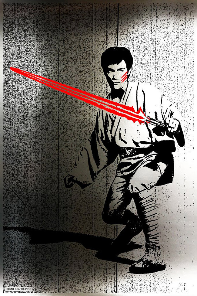 Blunt Graffix aka Matt Dye - Asian Star Wars Art on YellowMenace.net