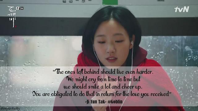 Korean Drama Quotes : Goblin Dokkaebi