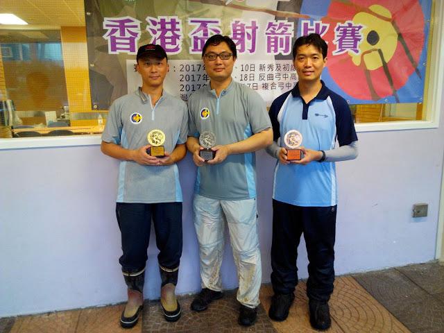 2017香港盃男子複合弓中級組三甲
