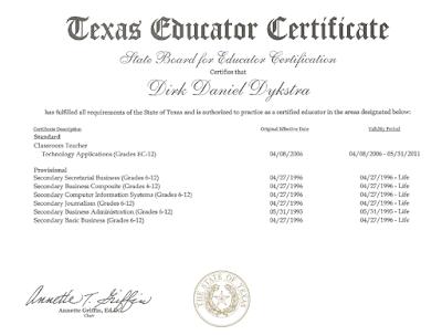Alternative Teaching Certification Texas