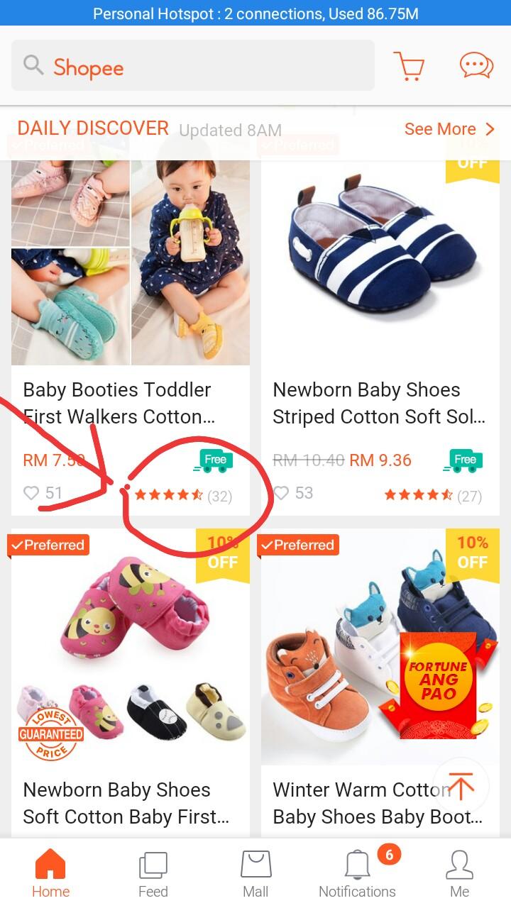 Review : Online Shopping di Shopee