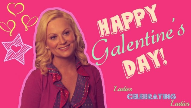 Leslie Knope from Parks and Recreation Galentines Day