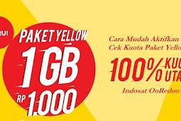 [WORK!!] Cara Daftar Paket Yellow 1GB Indosat - Agustus 2018