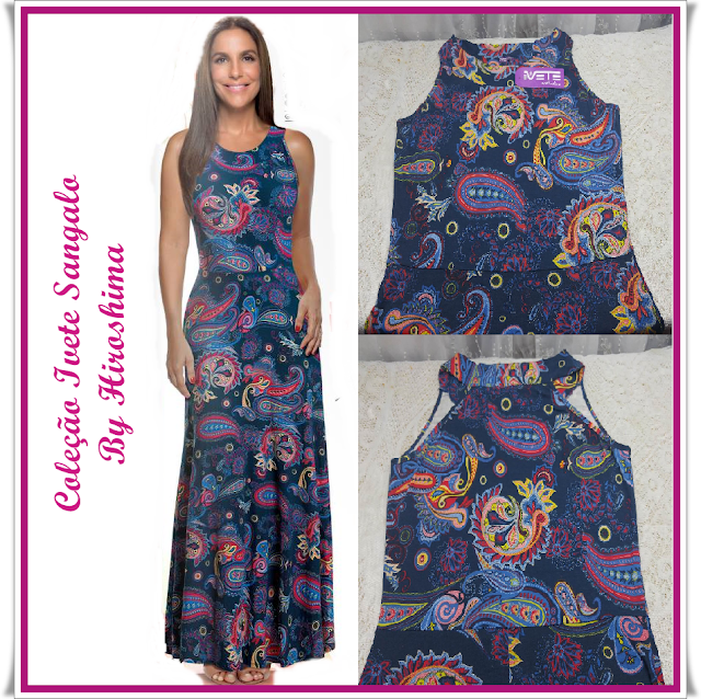 vestidos Hiroshima,vestido coleção Aline Barros,coleção Ivete Sangalo,moda feminina,vestidos de verão,vestido longo,vestido estampado,nova coleção Hiroshima