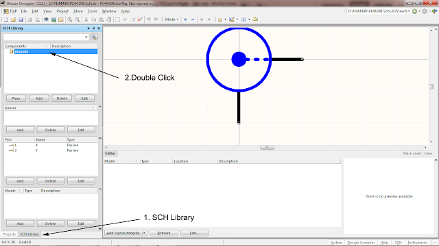 saving N connector schematic symbol