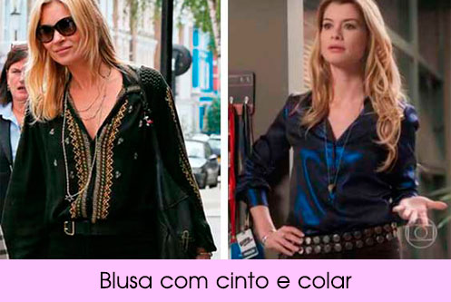 Looks Kate Moss e Diana figurino