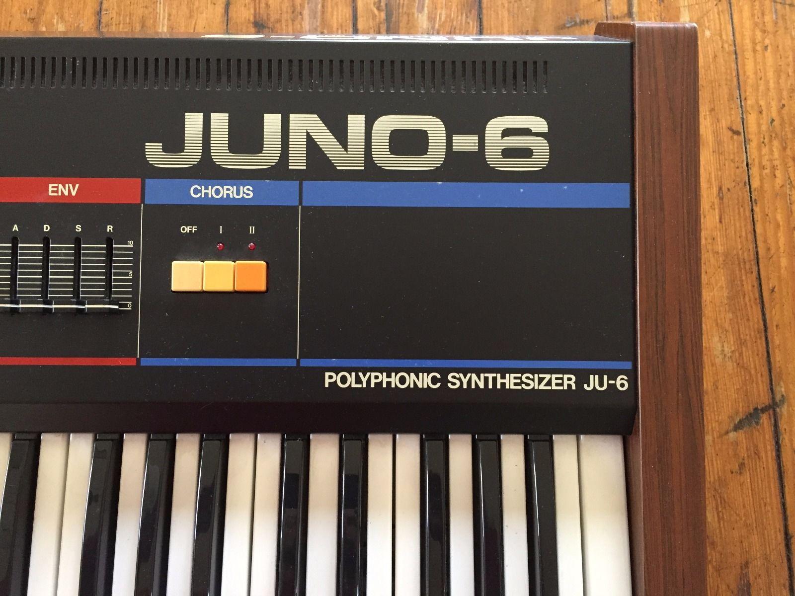 Matrixsynth Roland Juno 6 Synthesizer Sn 204919 Mono To Stereo 3