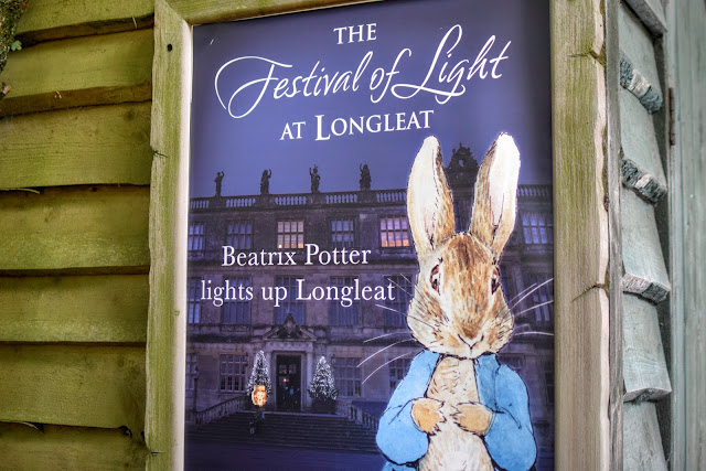 Longleat, Festival of light, Beatrix Potter