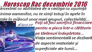 Horoscop  decembrie 2016 Rac