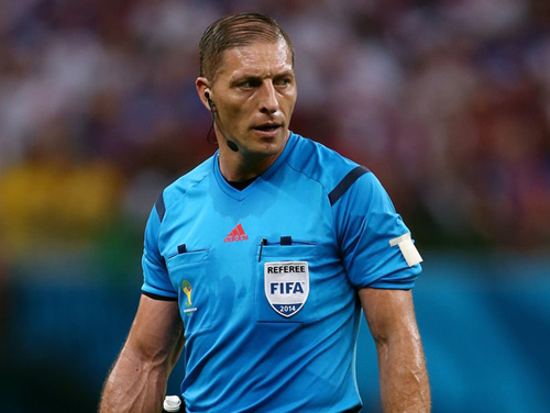 Chỉ định trọng tài ở tứ kết W.C, FIFA gây tranh cãi