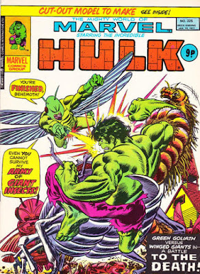 Mighty World of Marvel #225, Hulk vs the Locust