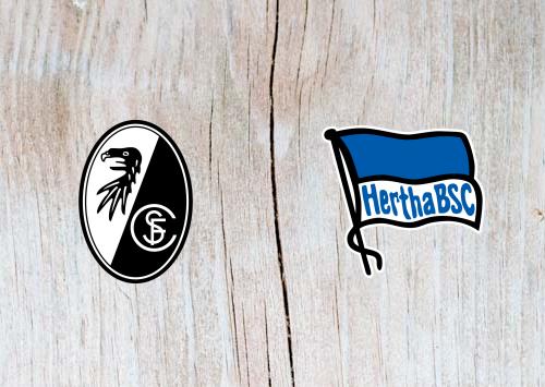 Freiburg vs Hertha Berlin - Highlights 9 March 2019