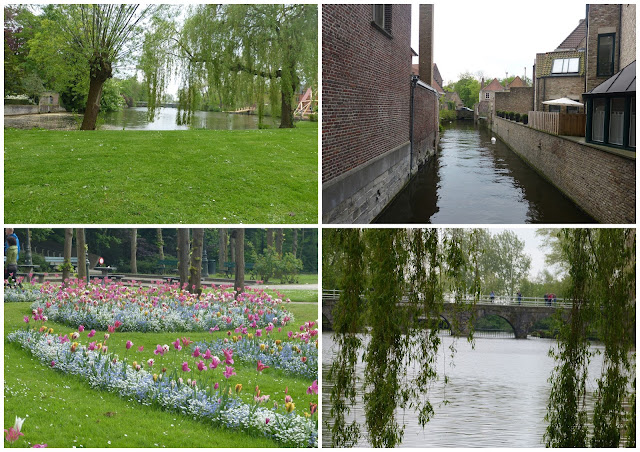 lac d'amour, minnewater, minnewater park, minewater à bruges