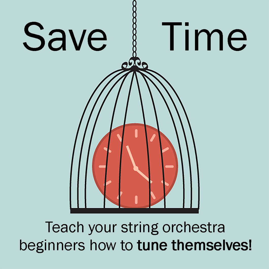 Orchestra Classroom Ideas: How to teach students to tune in