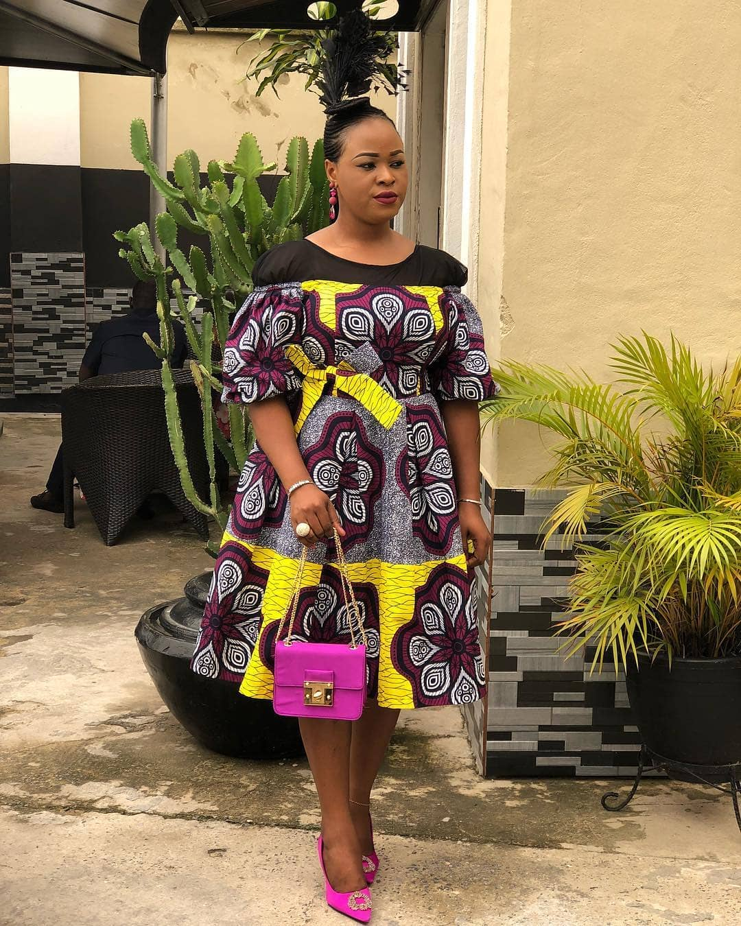 Fashion And Styles 2018 Simple Ankara Gown Ideas For Cute Ladies