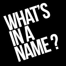 Apalah Arti Sebuah Nama?