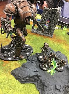 Knight Atrapos Dark mechanicum