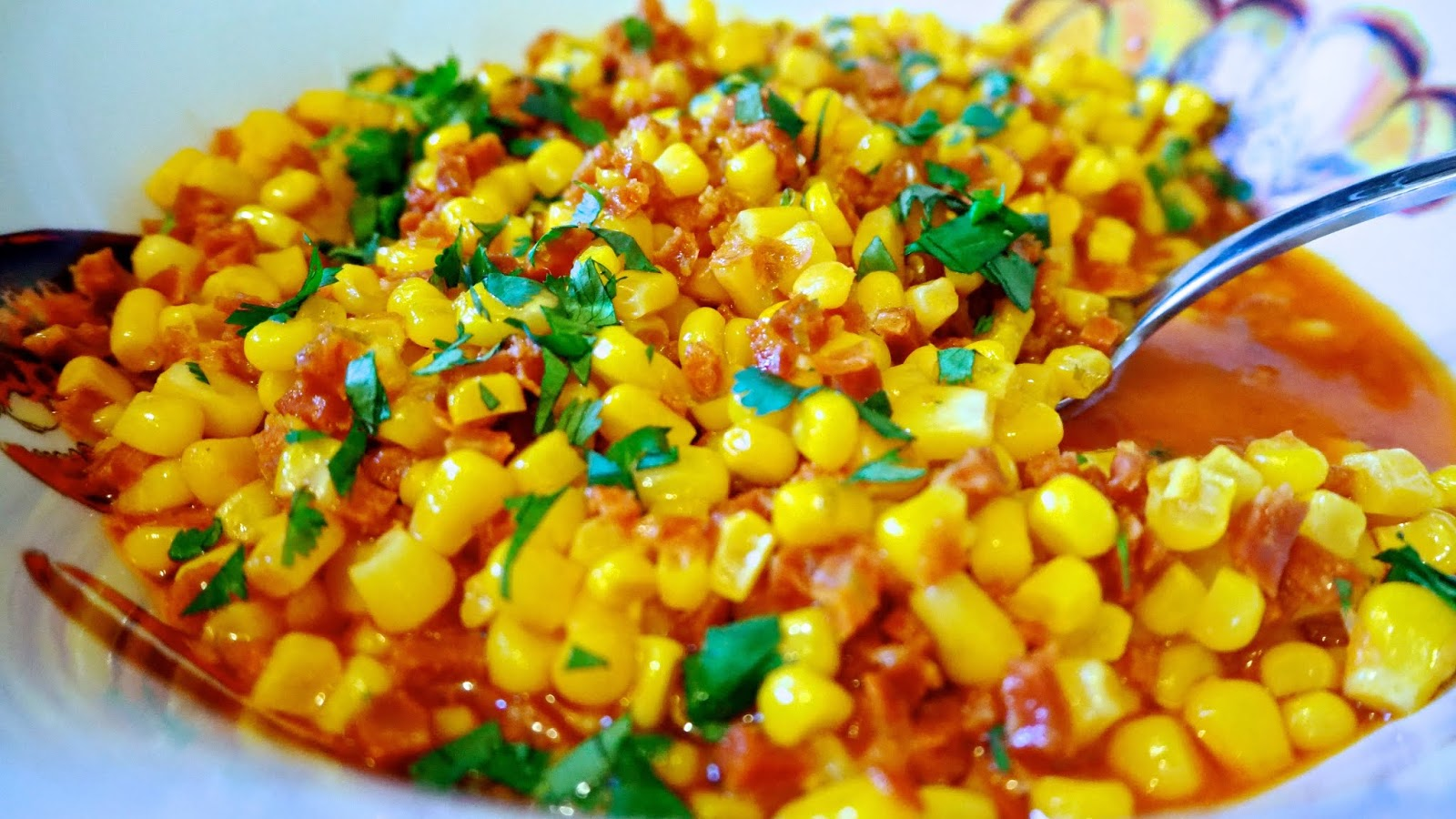 Chorizo & Lime Sweetcorn Closeup
