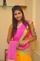 Lucky Sree in dasling Pink Saree and Orange Choli DSC 0328 1600x1063.JPG