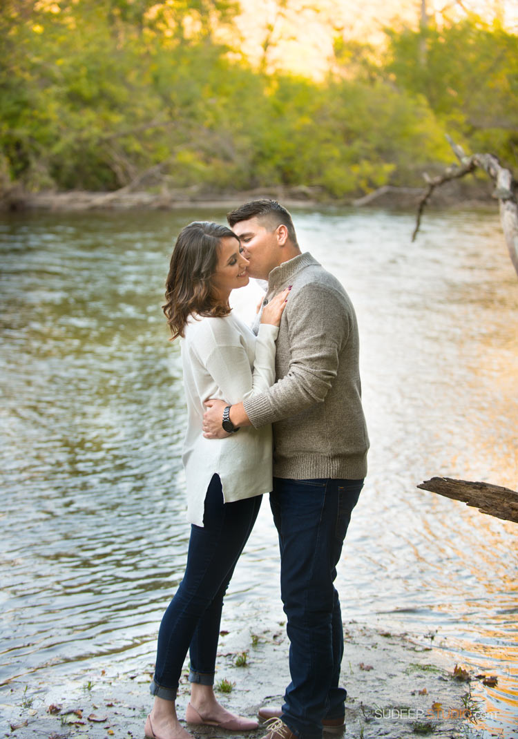Huron Riverside Nature Engagement Session - SudeepStudio.com Ann Arbor Wedding Photographer