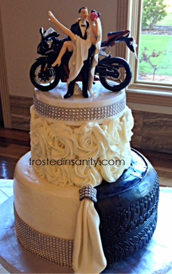 motorbike wedding cake frosted insanity wedding cakes amp groom s cakes 17597