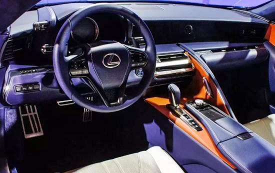 2018 Lexus LC 500 Price Range