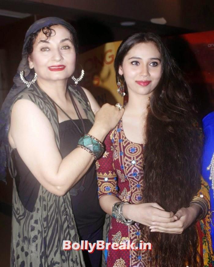 Salma Agha, Sasheh Aagha long hair, Sasha Agah, Tia Bajpai Pics from 'Desi Kattey' Trailer Launch