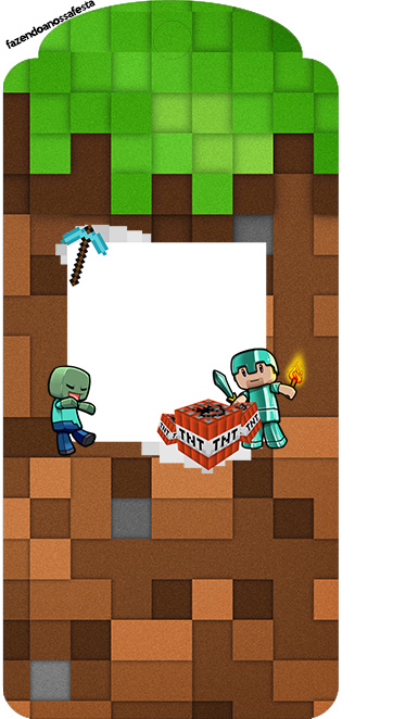 Minecraft Free Party Printables Oh My Fiesta For Geeks