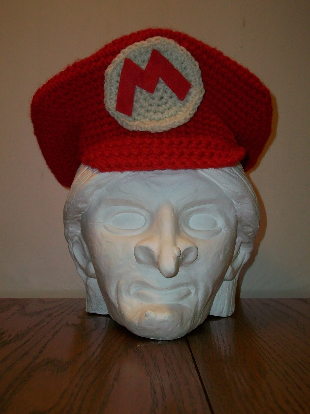 The hat took less than one ball of Red Heart Red yarn 2460569f6e2