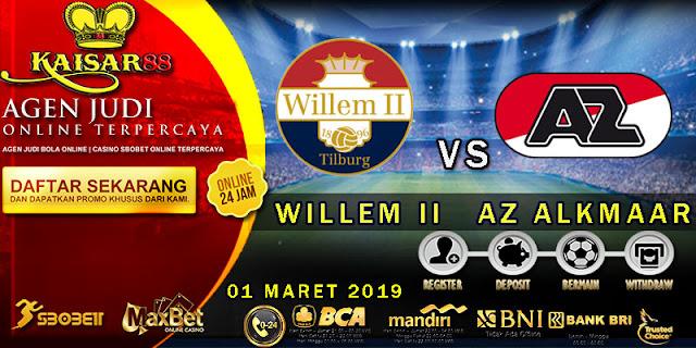 PREDIKSI BOLA TERPERCAYA WILLEM II VS AZ ALKMAAR 01 MARET 2019