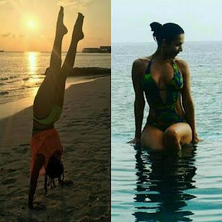 Malaika Arora Khan on the Hot Bikini Photo Instagram of the stock