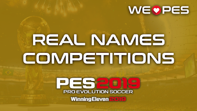 Real Names | Competitions | PES 2019