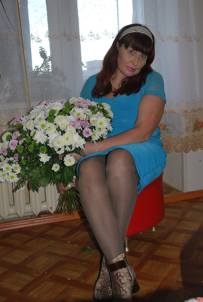 Old mature in pantyhose rica