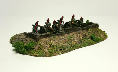 10EW002 Timber lined Emplacement 60mm insert