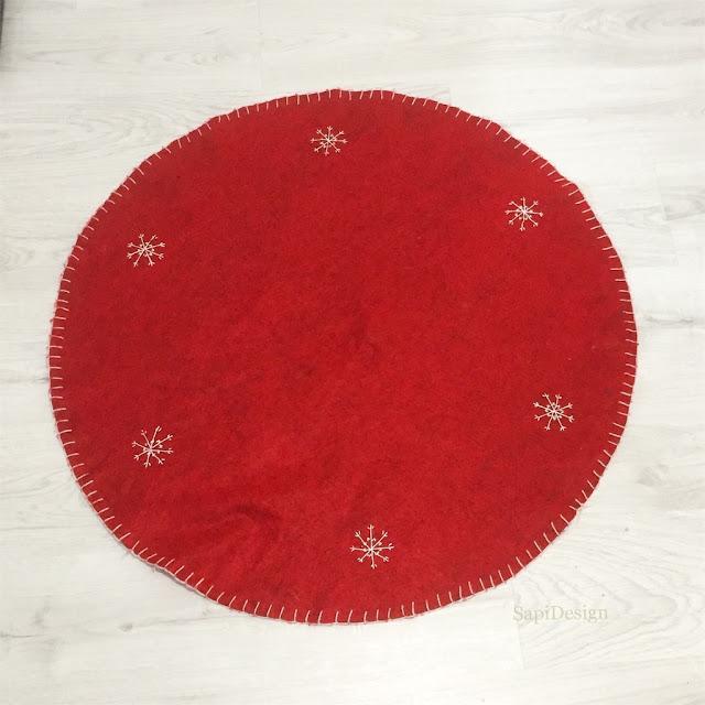 original old Christmas Tree carpet
