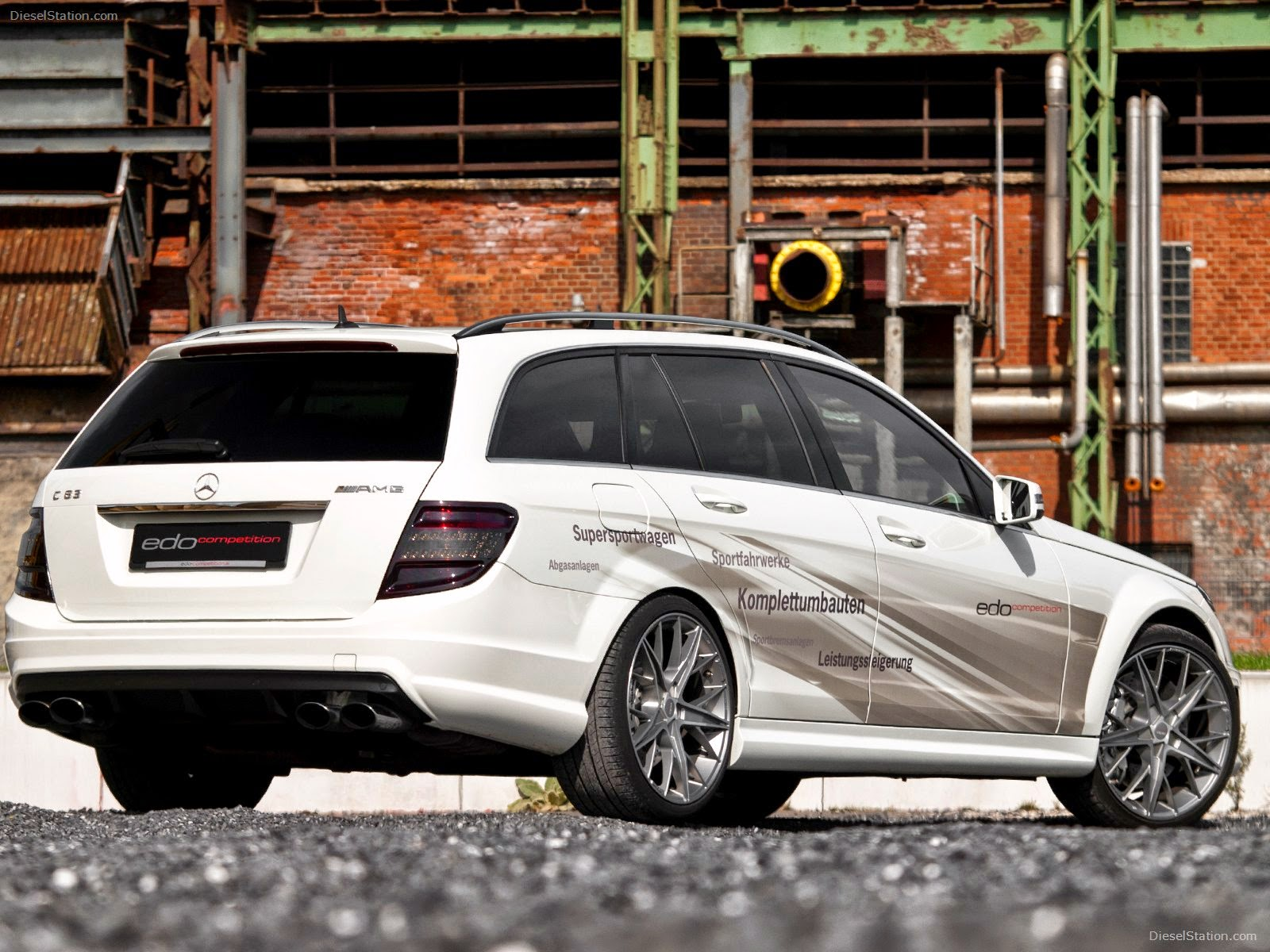 Mercedes Benz S204 C63 Amg Edo Competition Benztuning