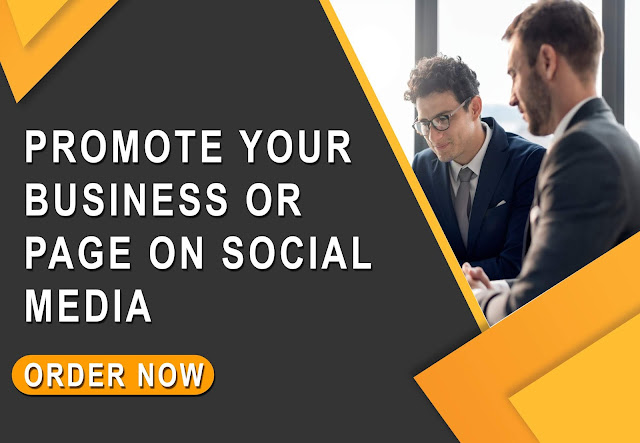 I Will Promote Your Business Or Page On Social Media