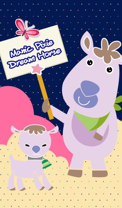 Manic Pixie Dream Horse
