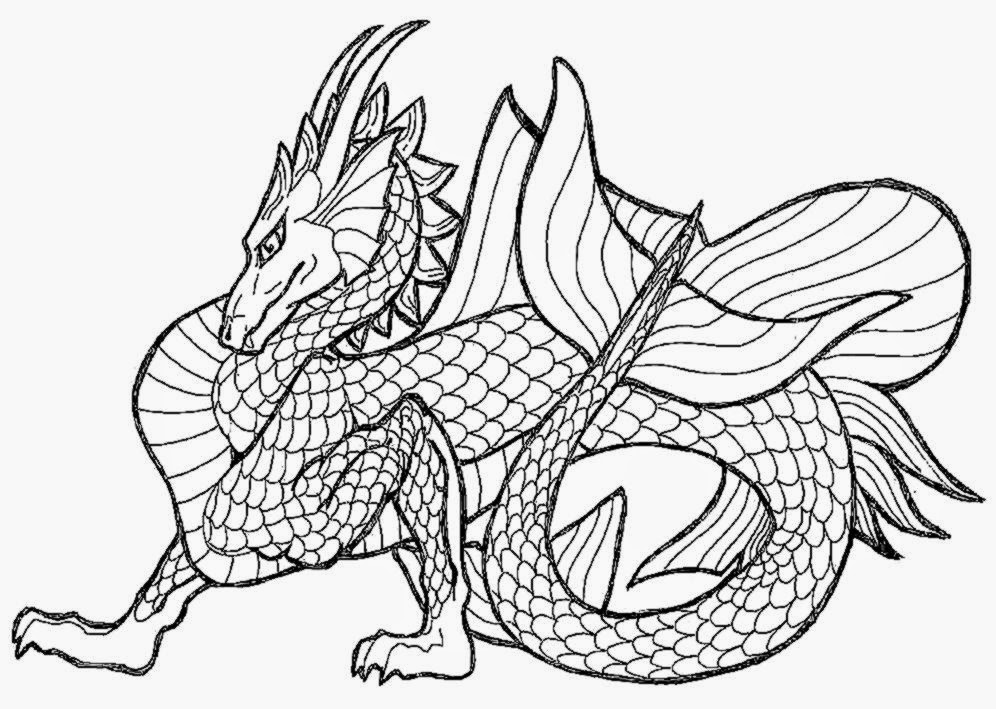 pictures of dragons to color free coloring pictures