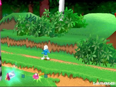 smurfs playstation game