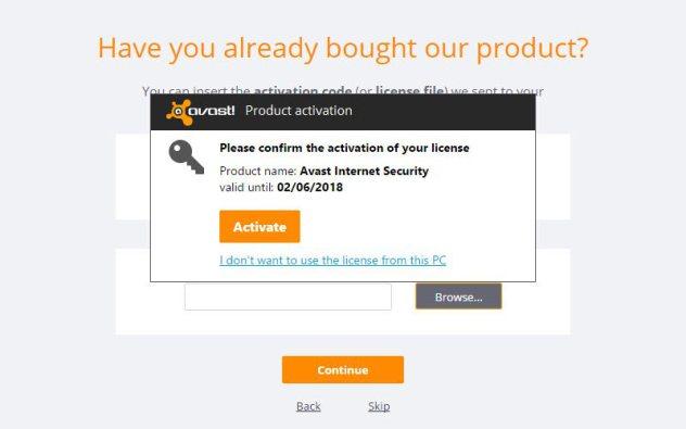 serial do avast free antivirus