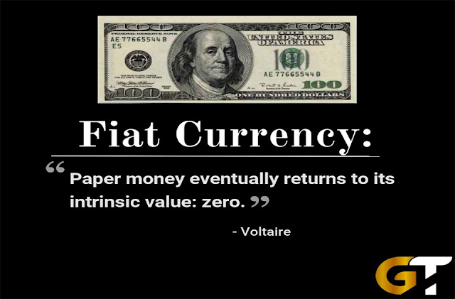 what is blockchain crypto currency vs fiat monetary system