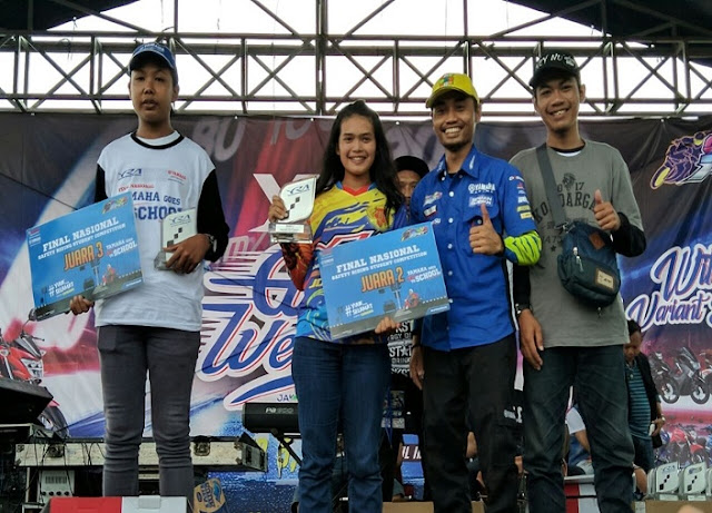 Pemenang Yamaha Goes to School Safety Riding Competition