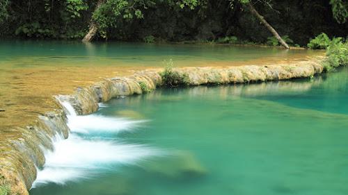 Piscinas naturais de Semuc Champey –Guatemala