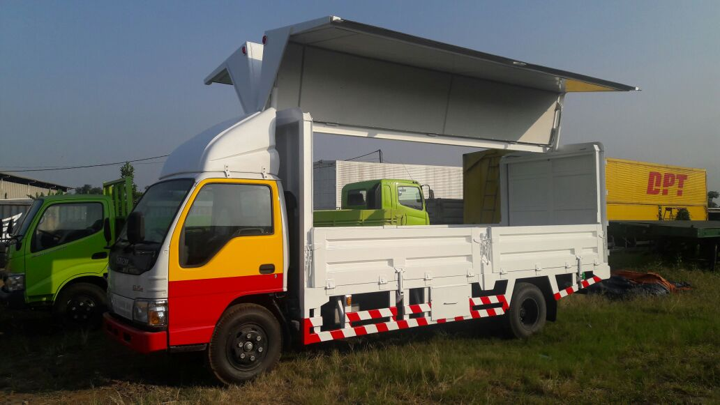 Promo Isuzu Elf Wing Box
