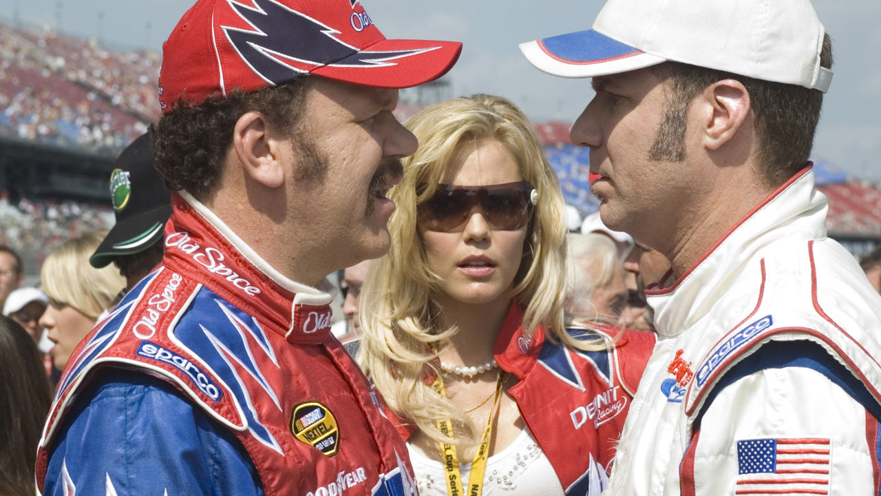 Movie Review Talladega Nights The Ballad Of Ricky Bobby